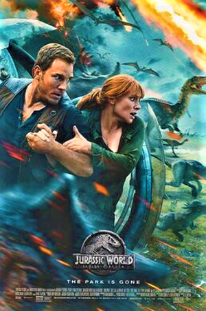 Jurassic World: Fallen Kingdom - Teaser poster