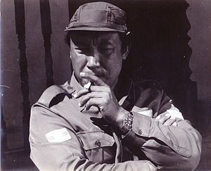 Khun Sa - Khun Sa pictured for the 1974 documentary The Opium Warlords by Adrian Cowell