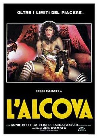 The Alcove - Italian theatrical release poster by Enzo Sciotti