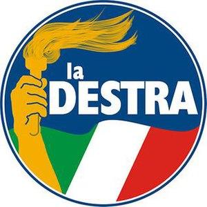 The Right (Italy) - Image: LA DESTRA