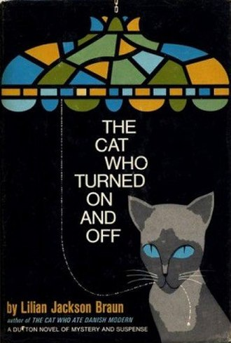 The Cat Who Turned On and Off - First UK edition cover