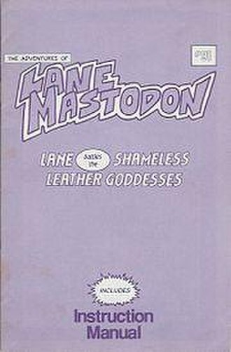 Leather Goddesses of Phobos - Cover of the Lane Mastodon comic