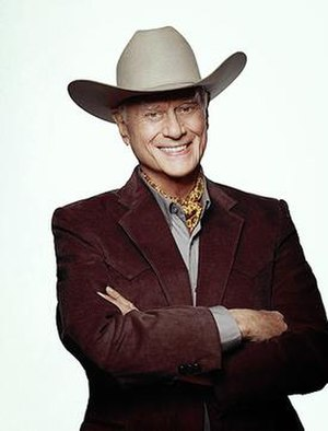 J. R. Ewing - Larry Hagman as J. R. Ewing (2012)