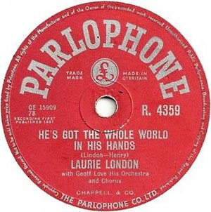He's Got the Whole World in His Hands - Image: Laurie London Whole World