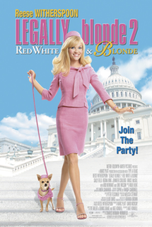 <i>Legally Blonde 2: Red, White & Blonde</i> 2003 American film directed by Charles Herman-Wurmfeld