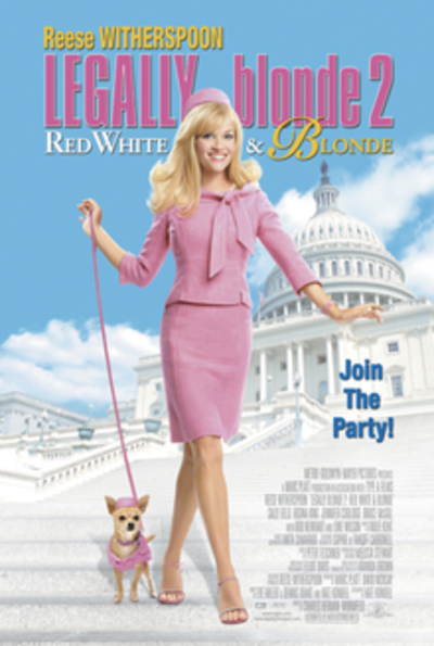 Picture of a movie: Legally Blonde 2: Red, White & Blonde
