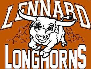 Earl J. Lennard High School - Image: Lennard Longhorns SDHC