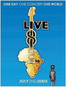 Logotipo de Live 8