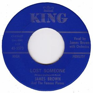 Lost Someone - Image: Lost Someone Single