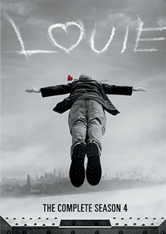 Louie (season 4) - DVD cover