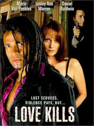 Love Kills (film) - DVD cover