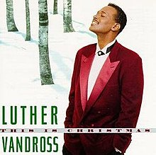 Luther Vandross - This Is Christmas album cover.jpg