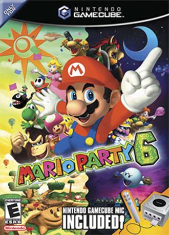 Mario Party 6 - North American box art