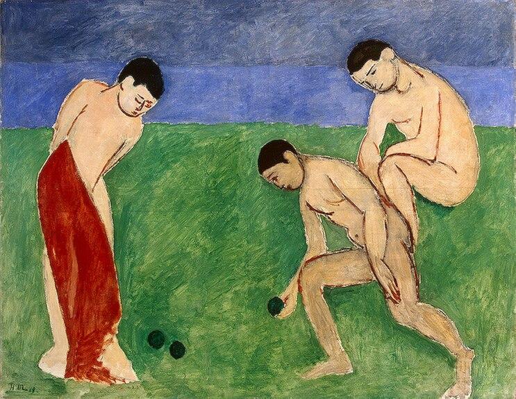 Matisse - Game of Bowls