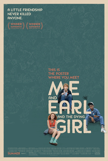 <i>Me and Earl and the Dying Girl</i> (film) 2015 film by Alfonso Gomez-Rejon