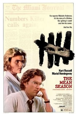 The Mean Season - Theatrical poster