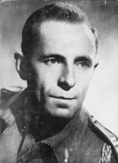 Michel Hollard French resistance member