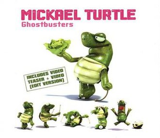 Ghostbusters (song) - Image: Mickael Turtle Ghostbusters Single