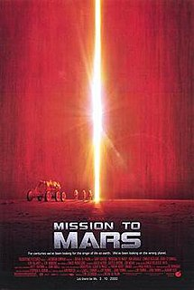 <i>Mission to Mars</i> 2000 science fiction film directed by Brian De Palma