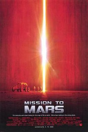 Mission to Mars - Theatrical release poster