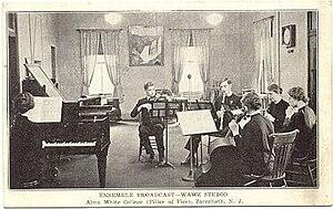 Zarephath, New Jersey - Image: Music ensemble at Alma White College, Pillar of Fire Church (ca. 1920)