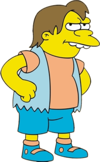 Nelson Muntz Fictional character from The Simpsons franchise