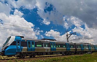 Transportation in Johannesburg - New Metrorail fleet
