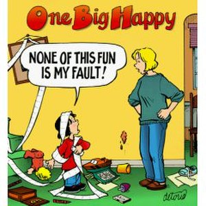 Rick Detorie - One Big Happy (comic strip)