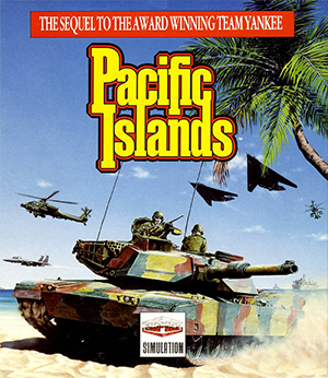 Pacific Islands (video game) - Cover art