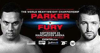 Joseph Parker vs. Hughie Fury Boxing competition
