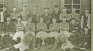 Parkhead F.C. - Parkhead Juniors, Scottish Junior Cup finalists 1896