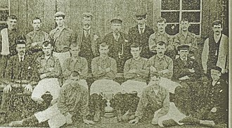 Braidfauld - Parkhead Juniors, Scottish Junior Cup finalists 1896