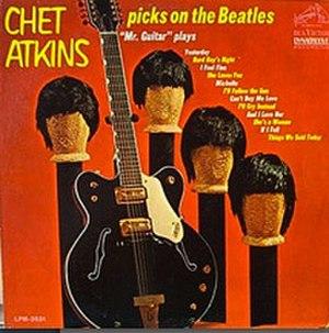 Chet Atkins Picks on the Beatles - Image: Picks On The Beatles