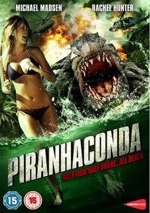Piranhaconda - DVD cover