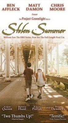 Poster of the movie Stolen Summer.jpg