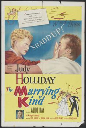 The Marrying Kind - Image: Poster of the movie The Marrying Kind