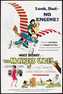 <i>The Monkeys Uncle</i> 1965 American comedy film by Robert Stevenson