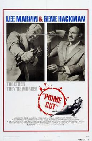 Prime Cut - Theatrical release poster by Tom Jung