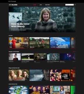RTÉ Player Irish demand video service