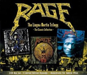 The Lingua Mortis Trilogy - Image: Rage The Lingua Mortis Trilogy