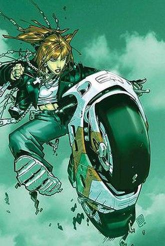 Wolfsbane (comics) - Image: Rahnebiker