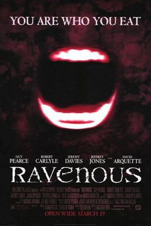 Ravenous (1999 film) - Theatrical release poster
