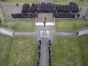 Malvern College - St. George and the Quad on Remembrance Sunday