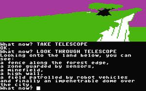Silicon Dreams - Commodore 64 screenshot of Return to Eden