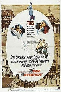 <i>Rome Adventure</i> 1962 film by Delmer Daves