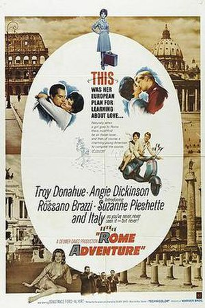 Rome Adventure - Theatrical release poster