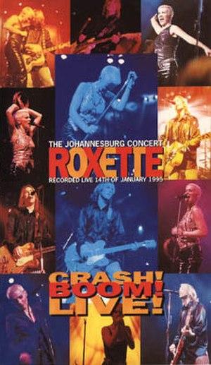 Crash! Boom! Live! - Image: Roxette Crash! Boom! Live!