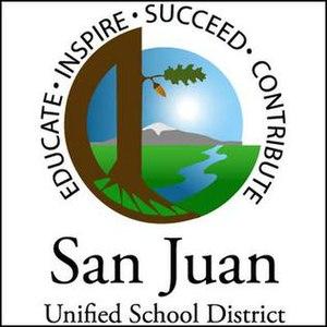 San Juan Unified School District - Image: San Juan Unified