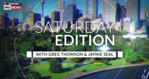 Saturday Edition - Image: Saturday Edition title card