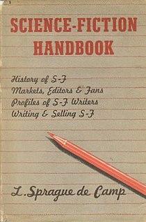 <i>Science-Fiction Handbook</i> book by Lyon Sprague de Camp